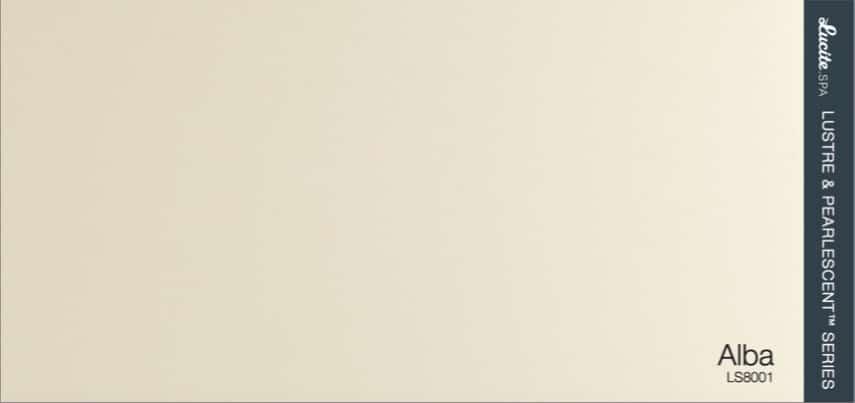 Barva akrylátu vířivky Lucite Alba